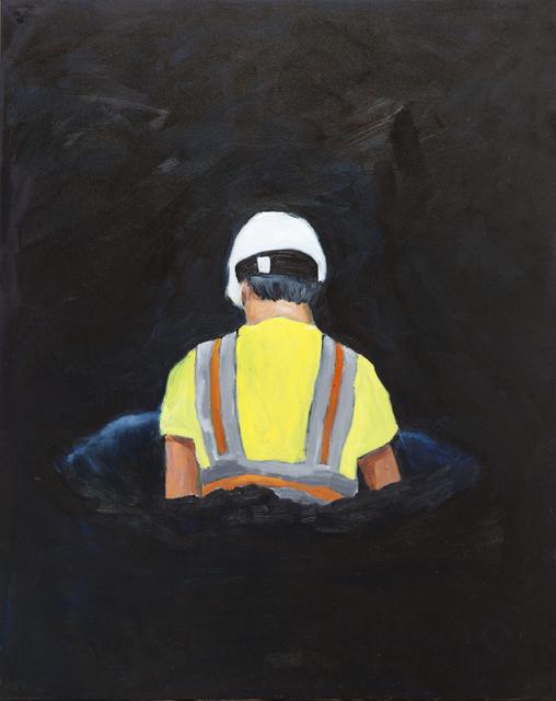 , 'Worker III,' 2016, Jules Maeght Gallery
