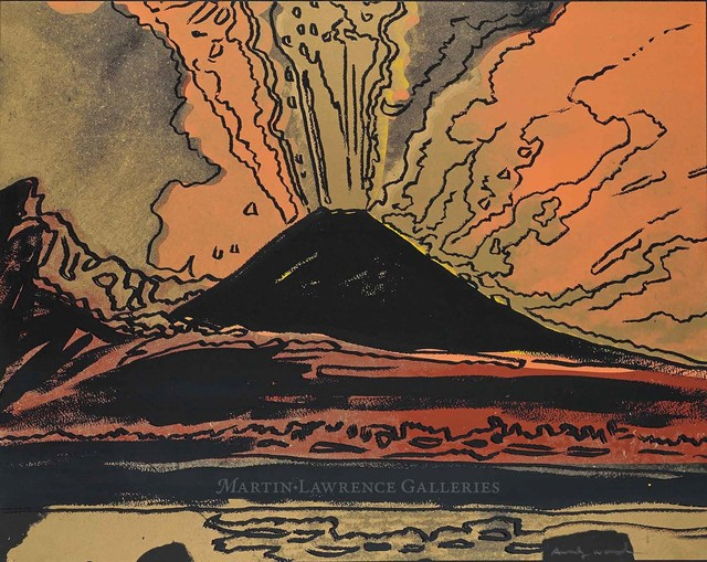 Andy Warhol, 'Vesuvius, 1985 (#365)', 1985, Martin Lawrence Galleries