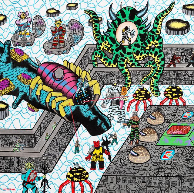 Motohiro Hayakawa, 'Space Battles Series 1 - #8', 2010-2016, Coleccion SOLO