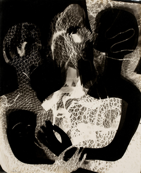 Ei-Q, 'Three people', 1950, Photography, Photo-dessin (photogram), Watanuki Ltd. / Toki-no-Wasuremono