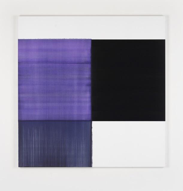 , 'Exposed Painting Blue Violet,' 2018, Sean Kelly Gallery