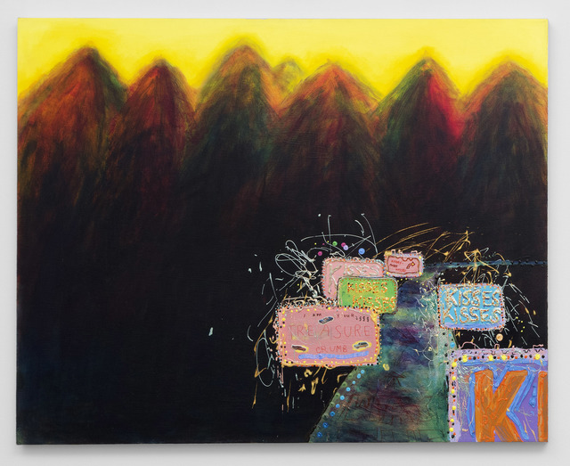 , 'Kisses Kisses,' 1995, bitforms gallery