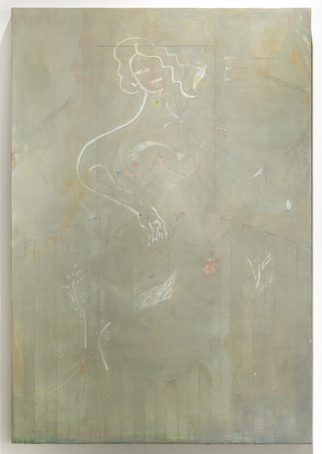 , 'Oil and marble on canvas,' 2017, Galerie Rüdiger Schöttle
