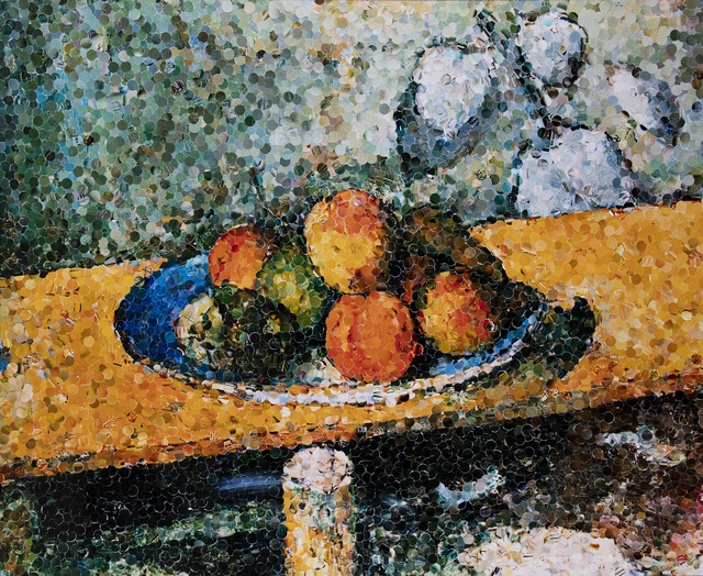 , 'Apples, Peaches, Pears and Grapes, After Cezanne,' 2003, Edwynn Houk Gallery