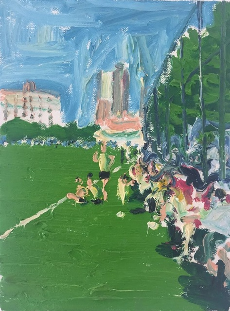 , 'Football Field,' 2015, PIFO Gallery