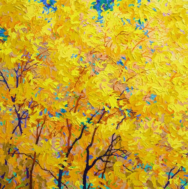 , 'Indian Yellow,' 2018, Ventana Fine Art