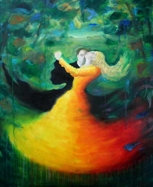 , 'Dancers,' 2017, Ashok Jain Gallery