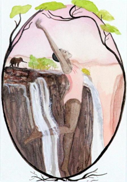 , 'Victoria Falls,' 2017, Bitfactory Gallery
