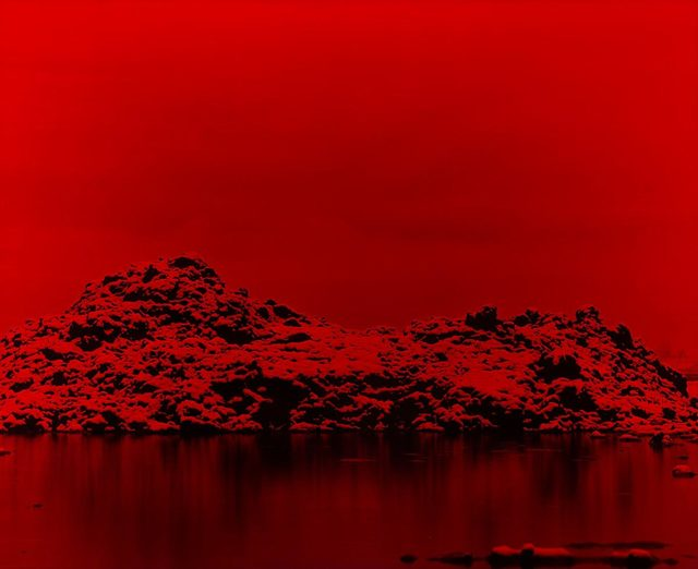 , 'Premonition Red,' 2016, Photon Gallery