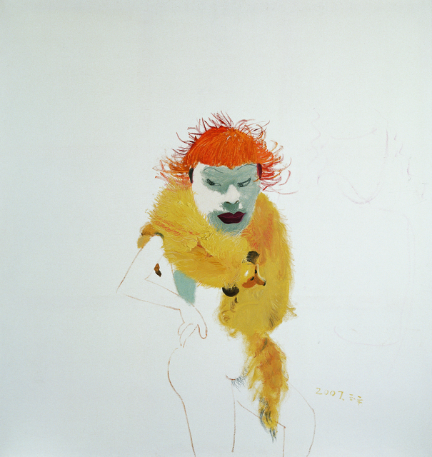 , 'Red Hair No.6,' 2006, Wooson Gallery
