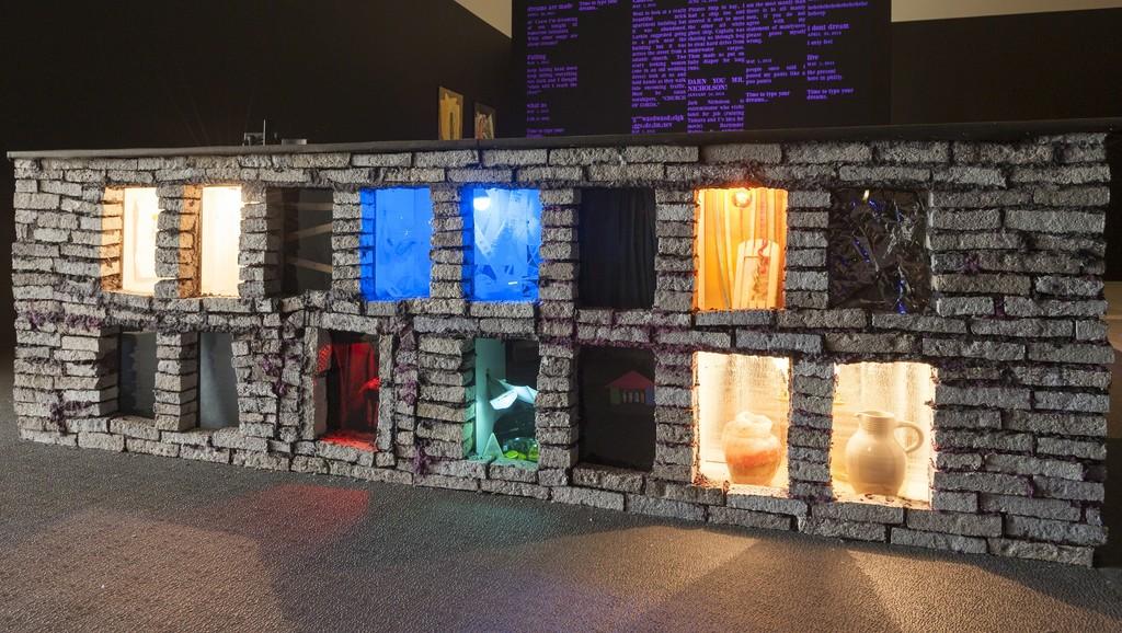 Consider the Belvedere, 2015, installation view, Institute of Contemporary Art, University of Pennsylvania. Photo: Constance Mensh.