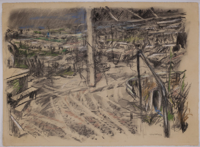 , 'Embarkation,' 1986, Sylvan Cole Gallery