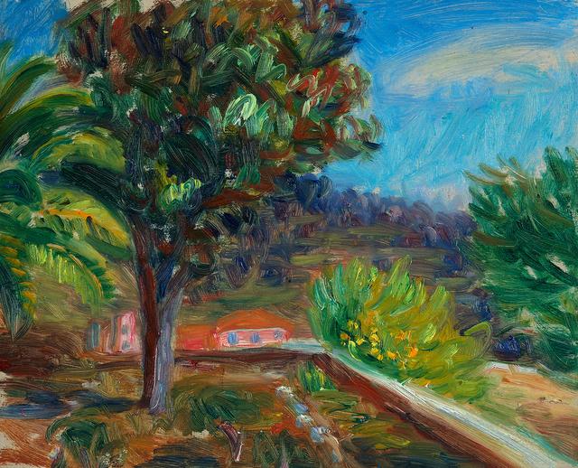 , 'View into a Garden,' , Questroyal Fine Art