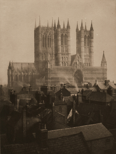 , 'Lincoln Cathedral from the Castle,' 1898, Alan Klotz Gallery