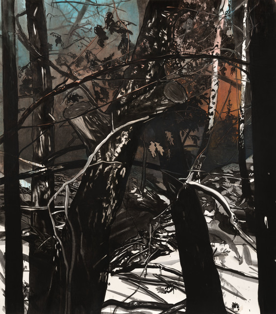 , 'Winternacht,' 2014, Galerie Kleindienst