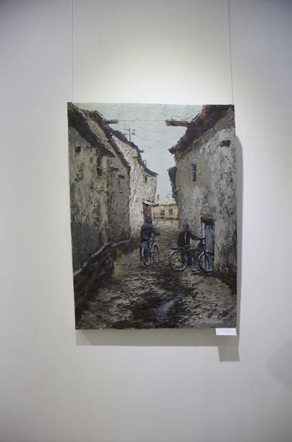 , 'Bukhara Cyclists,' 2018, OYANU Gallery
