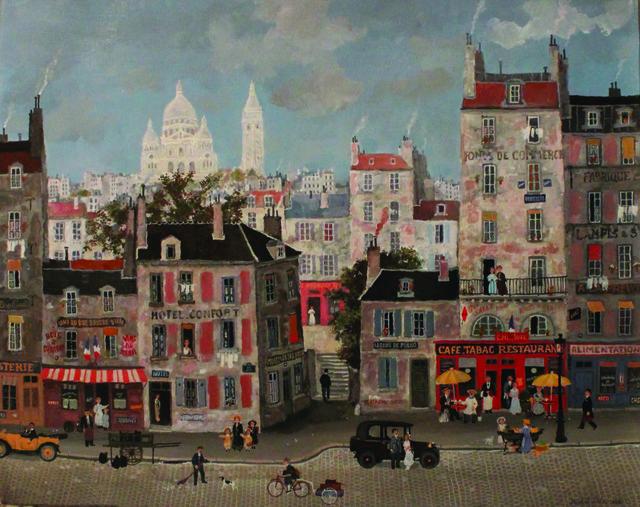 , 'Au pied de la Butte Montmartre ,' , Hugo Galerie