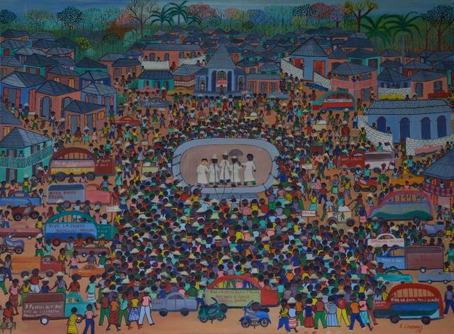 , 'Vive le drapeau Bleu et Rouge,' , Le Centre d'Art d'Haïti