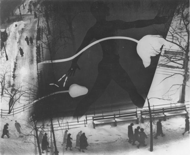 Barbara Morgan, 'Spring on Madison Square', 1938, Bruce Silverstein Gallery