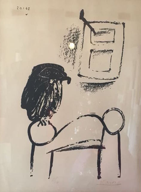 , 'Le Hibou Au Fond Blanc (Owl with White Background) ,' 1947, Gallery On The Move