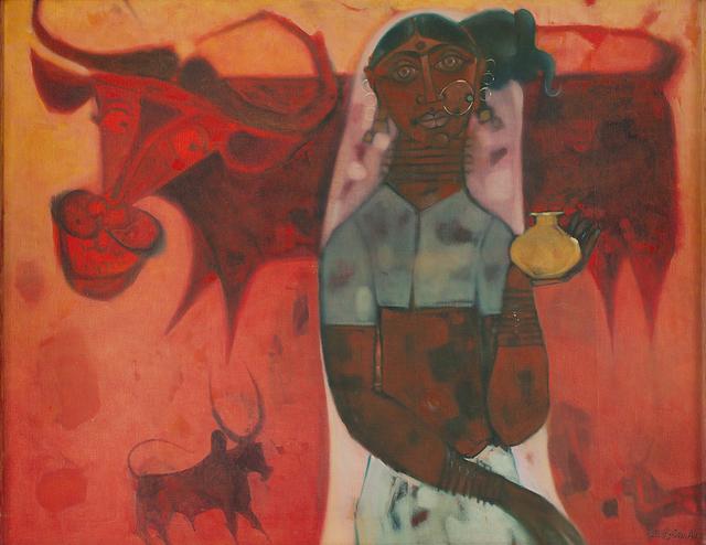 , 'Milk Maid,' 1971, Dag Modern