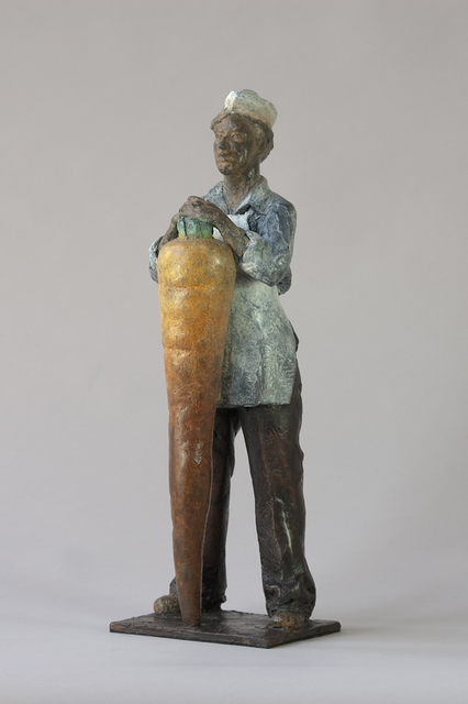 ", '""Carrot Lady"",' 2015, Surovek Gallery"