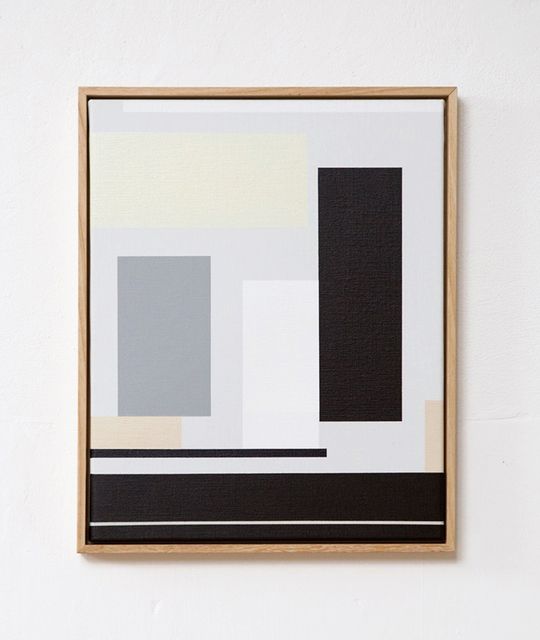 Els van 't Klooster, '1604', 2016, Painting, Acrylic on canvas, framed, O-68