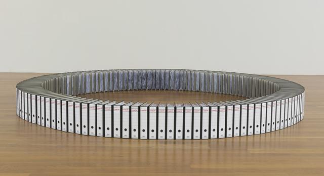 , 'Ringbinder Circle,' 2014, Nogueras Blanchard
