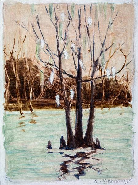 , 'Egrets,' , Pucker Gallery