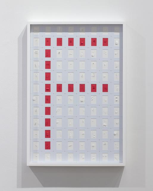 Marco Maggi, 'Letterist (Slide Typewriter F)', 2019, Josée Bienvenu