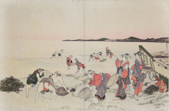 , 'Collecting Shellfish,' ca. 1800, Ronin Gallery