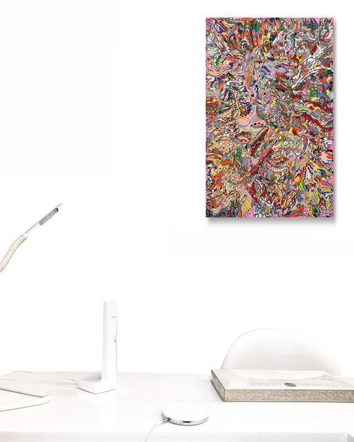 Christophe Ausello, 'Numéro 44 - Particules', 2019, Galerie Libre Est L'Art