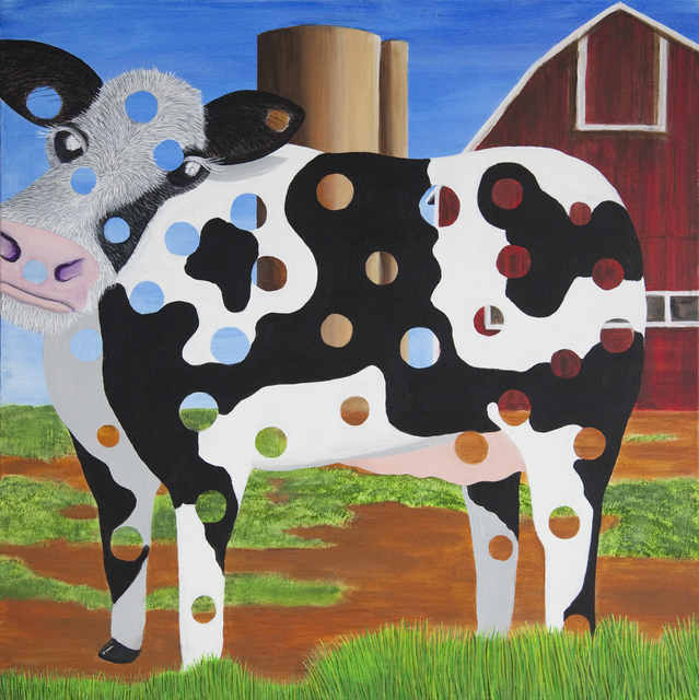 "Stephen Green, '""Holy Cow!""', 2011, Ezair Gallery"