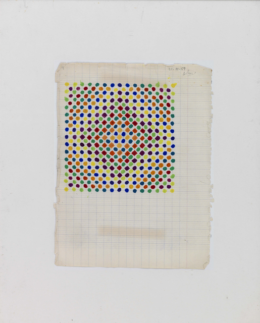 , 'Projet couleur n° 1 (Color Project n° 1),' 1959, Pérez Art Museum Miami (PAMM)