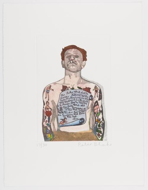 , 'Reverend Ricky Wreck ,' 2016, Paul Stolper Gallery
