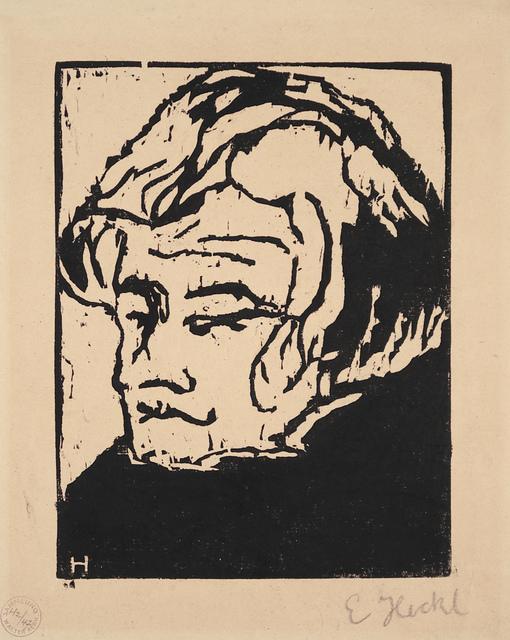 , 'Kopf des Geigers,' 1907, Henze & Ketterer