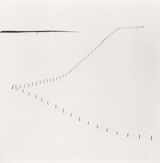 , 'Hillside Fence, Study 6, Teshikaga, Hokkaido, Japan,' 2007, photo-eye Gallery
