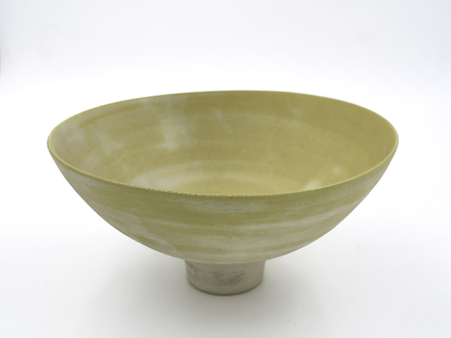Ryota Aoki, 'Yellow Glaze Tea Bowl', 2009, Ippodo Gallery