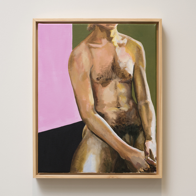 , 'Seated Male Nude,' 2017, Jen Mauldin Gallery