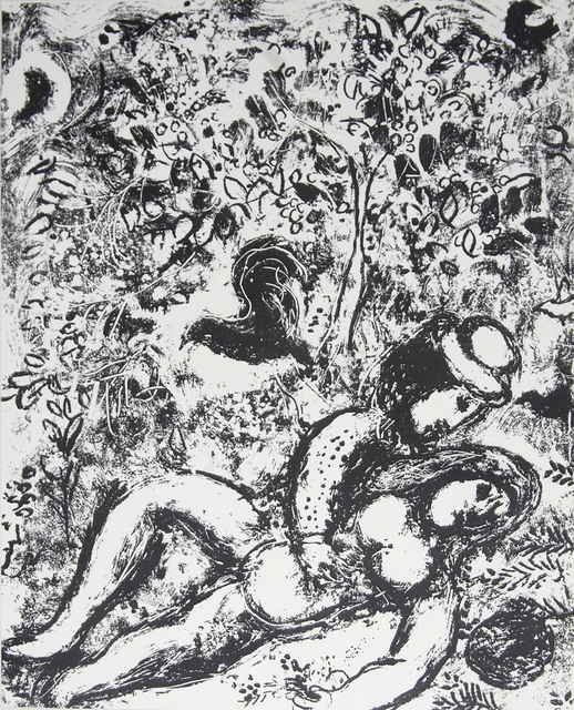 Marc Chagall, 'The Pair in a Tree', 1963, Ephemera or Merchandise, Stone Lithograph, ArtWise