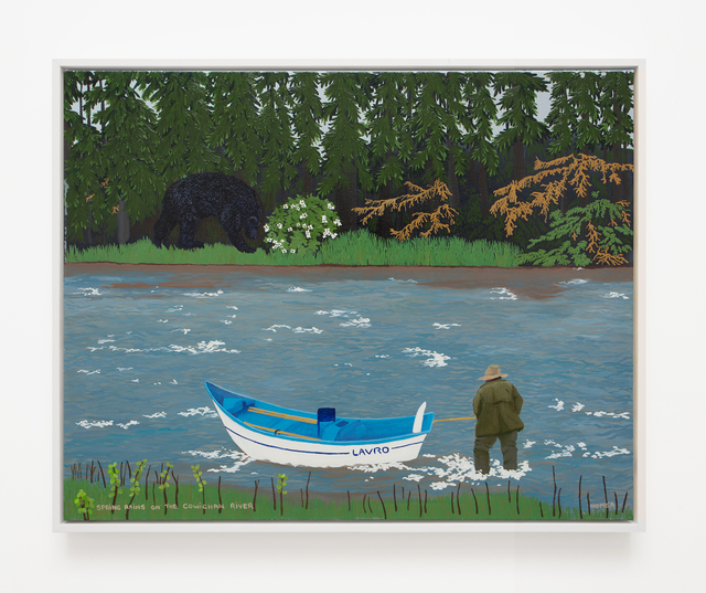, 'Spring Rains on the Cowichan River,' 2005, VARIOUS SMALL FIRES