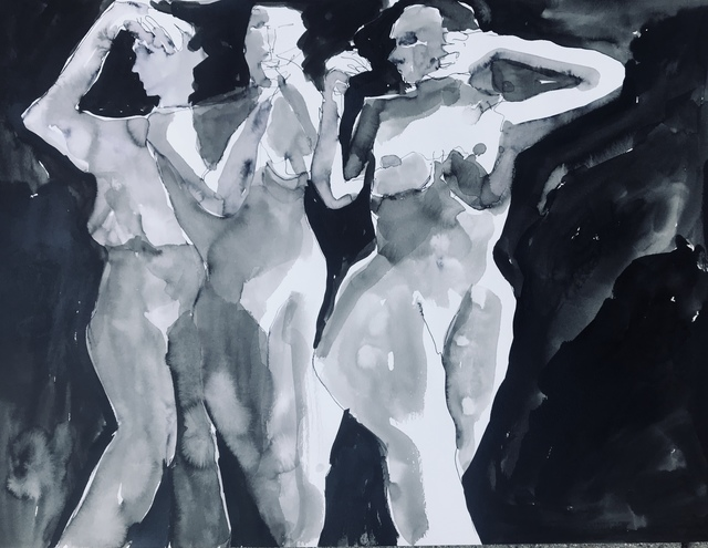 , 'Three Muses,' 2018, Gallery 4 West
