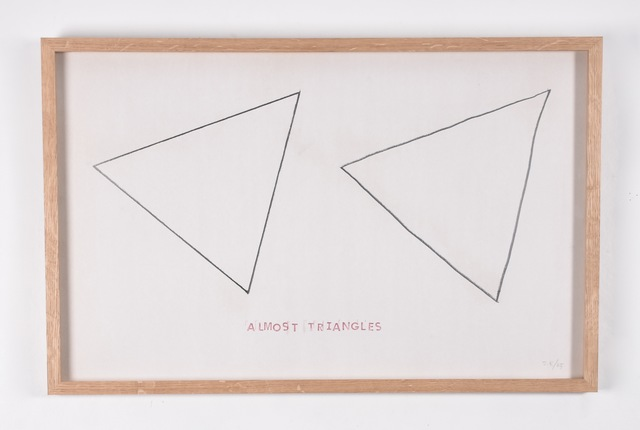 , 'Modal Drawing (Almost Triangles),' 1975, RCM Galerie