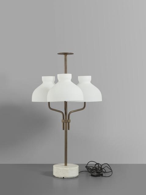 Ignazio Gardella, 'A 'Arenzano tre fiamme' (LTA3B) table lamp', 1963, Aste Boetto