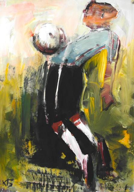 ", '""Football"" 7,' 2018, Krokin Gallery"