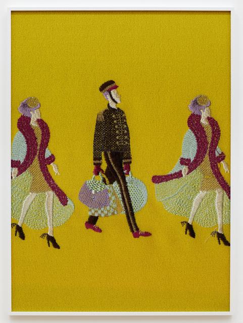 , 'Porter (yellow),' 2018, Galerie Peter Kilchmann