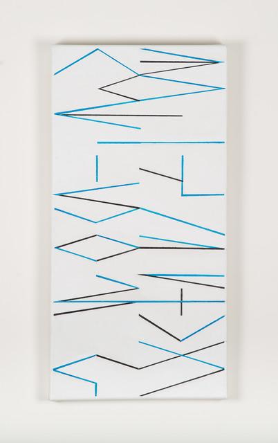 , 'Sin título (Abecedario),' 2014, Henrique Faria Fine Art