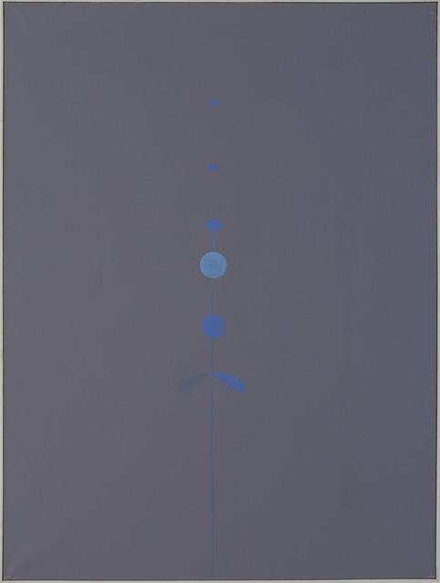 , 'Silver Points of Anxiety III,' 1997, Galería Hilario Galguera