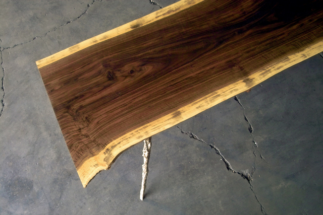 , 'Cast/Slab Dining Table, Rob Zinn,' , blankblank
