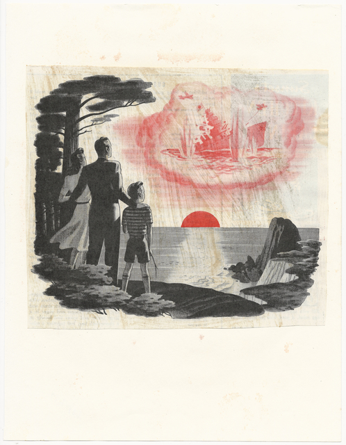 , 'Sunset,' 1974, MONITOR